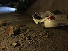 Bodrum'da 6,6 büyüklüğünde deprem! Plajda feci görüntü