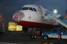 Atlasglobal'in pilotu kokpit camı hasar görünce uçağı böyle indirdi