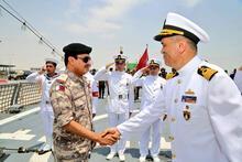 Son dakika... Ve Türk askeri sahne alıyor! Türk savaş gemisi Katar'da sahne alıyor...