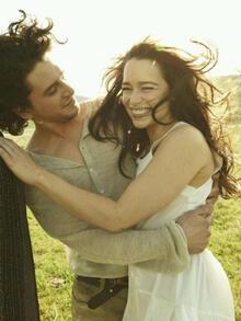 'Daenerys Targaryen' ile 'Jon Snow'un pozu olay oldu!