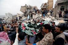 Son dakika: Savaş uçakları evleri bombaladı! Feci görüntüler...