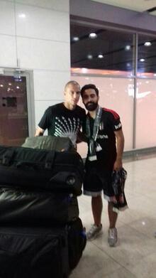Gökhan İnler ve Atınç Nukan Beşiktaş için İstanbul'da!