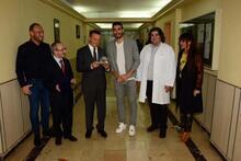 Mehmet Topal'a, Cerrahpaşa Tıp Fakültesi'nden 'Onursal Üyelik'