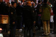 Taksim'de Celtic taraftarı ile vatandaş arasında gerginlik!