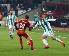 Atiker Konyaspor - Galatasaray: 0-1