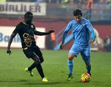 Trabzonspor - Osmanlıspor: 1-2