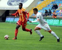 Kayserispor - Adanaspor maçından kareler