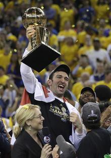 NBA'de şampiyon Golden State Warriors