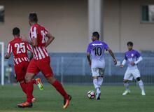 Galatasaray-Diosgyor maçından kareler
