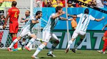 Arjantin'den tek kurşun!