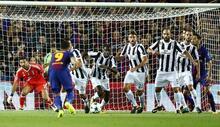 Barcelona - Juventus maçından kareler