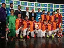 Lizbon'da Galatasaray yarı final gördü