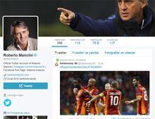 Mancini'den Galatasaray jesti!