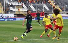 Akhisarspor - Yeni Malatyaspor maçından kareler