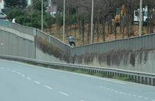 İstanbul'da hareketli dakikalar! Yol tamamen trafiğe kapatıldı