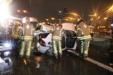 Son dakika   İstanbul'da 11 araç birbirine girdi! Ölü ve yaralılar var...