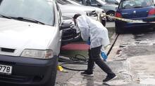 Oto Galericiler Sitesi'nde silahlı kavga! Karşısında gördü kurşun yağdırdı