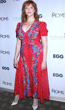 Christina Hendricks yeni filmini tanıttı