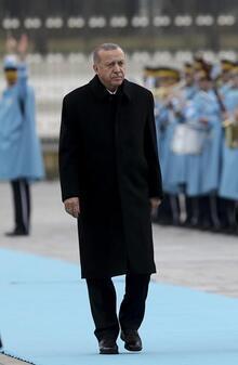 Cumhurbaşkanı Erdoğan, Malta Cumhurbaşkanı Preca'yı resmi törenle karşıladı