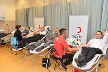 Cumhurbaşkanlığı'ndan kan bağışı kampanyasına destek