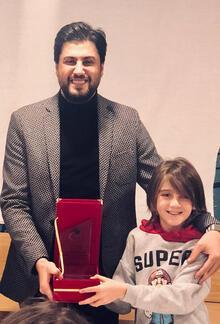Serkan Çağrı'ya 'Yılın Babası' ödülü