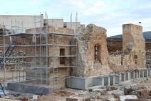 Hasankeyf'te 611 yıllık minare yeniden inşa ediliyor