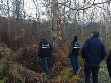 Önce aradı haber verdi sonrası korkunç! Polis ormanlık alana geldiğinde...