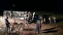 Son dakika   Ağrı'da yolcu otobüsü devrildi! Çok sayıda yaralı var...
