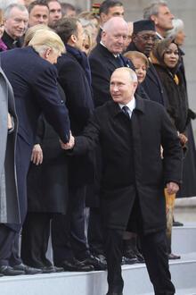 Cumhurbaşkanı Erdoğan Paris'te... Liderler böyle yürüdü!