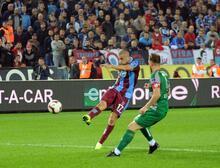 Trabzonspor - Bursaspor maçından fotoğraflar