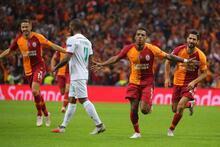 Galatasaray - Lokomotiv Moskova maçından fotoğraflar