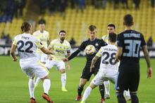 Fenerbahçe - Dinamo Zagreb maçından fotoğraflar