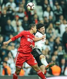 Beşiktaş - Demir Grup Sivasspor maçından fotoğraflar