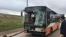 Gaziantep'te belediye otobüsü devrildi: 19 yaralı