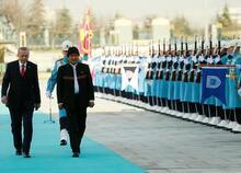Bolivya Devlet Başkanı Eva Morales Türkiye'de