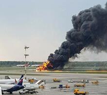 Son dakika | Rusya'da yolcu uçağı alev aldı! Çok sayıda ölü var...