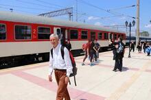 Filibe - Edirne tren seferleri başladı