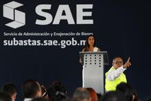 Meksika'da uyuşturucu kartellerinin kaçış tünelli villaları açık artırmada