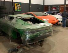Sahte Ferrari ve Lamborghini fabrikası kapatıldı