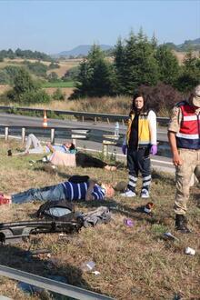 Cenaze dönüşü korkunç kaza! Ölü ve yaralılar var