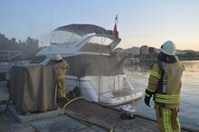 İstanbul'da iki aynı marinada yangın