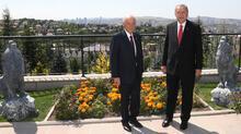 Cumhurbaşkanı Erdoğan'dan Bahçeli'y evinde ziyaret