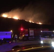 Marmara Adası'nda büyük yangın! İşte son durum...