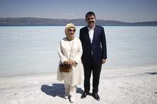 Emine Erdoğan, Salda Gölü'nde