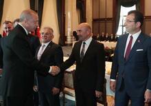 Cumhurbaşkanı Erdoğan büyükşehir belediye başkanlarına seslendi