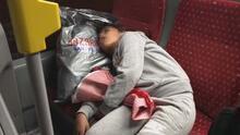 Metrobüste yürek burkan görüntü