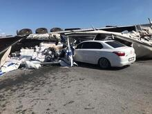 Otoyolda zincirleme kaza: 4 yaralı