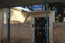 YPG/PKK kiliseden hem Türkiye'yi hem papazın evini vurdu