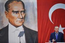 Cumhurbaşkanı Erdoğan'ın katıldığı Fenerbahçe Yüksek Divan Kurulu'ndan görüntüler