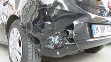 Trafik magandası üniversiteli gence trafikte dehşeti yaşattı